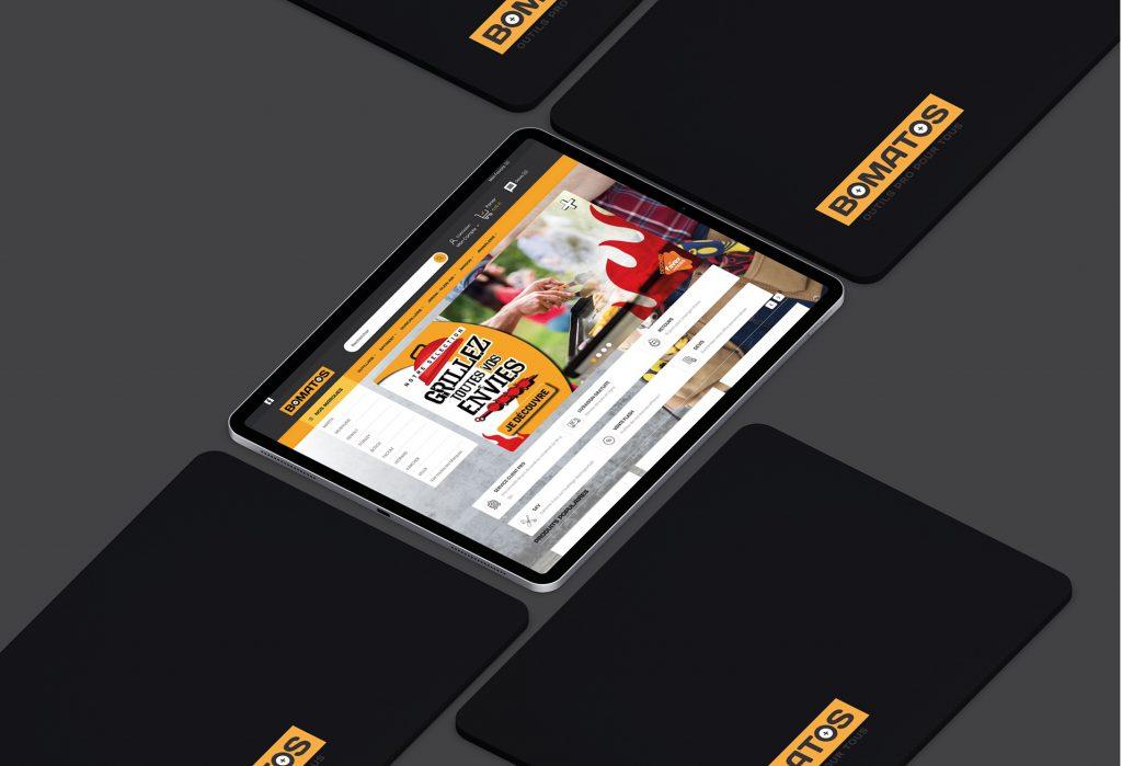 Site web Bomatos